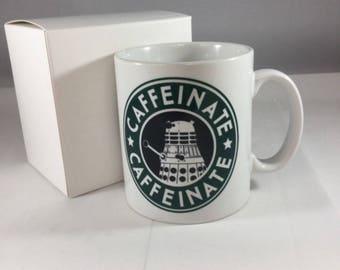 Dalek Caffeinate Mug