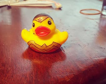 Wonder woman duck