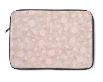 Dots And Marble Laptop Sleeve