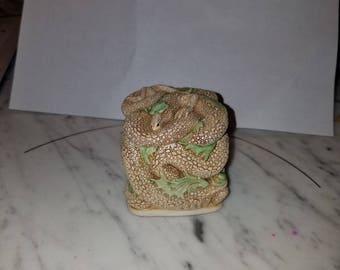 Snake box - Harmony Kingdom made in England