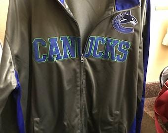 NHL Vancouver Canucks Men's Warmup Jacket