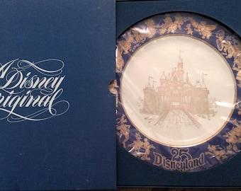 Disneyland 25th Anniversary Plate No. 1256