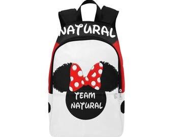 Team Natural Custom Fabric Backpack