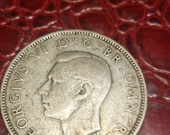 Great Britain florin two shillings 1937 George V silver