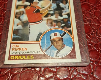 1983 O-Pee-Chee #163 Cal Ripken .Combined shipping