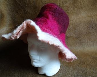 Unique felt hat