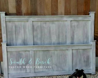 Custom Farmhouse Bed King, Queen, Full, Twin Shipping Available