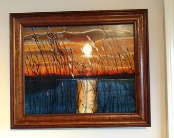 Morning Reeds