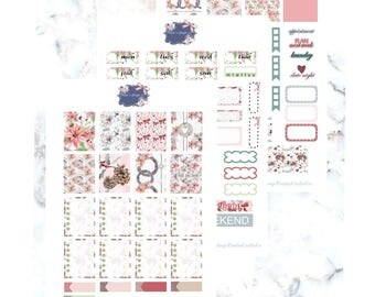 Holy Christmas Printable Kit/ Erin Condren/ Weekly kit