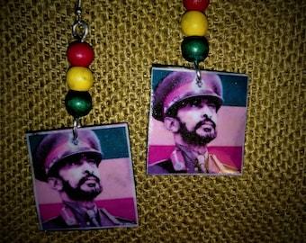 HIM Selassie I Earrings
