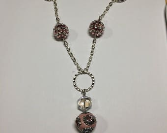 Pink/Silver Necklace