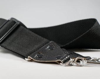 Vintage Black Camera Strap