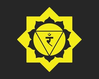 Solar Plexus Chakra T-shirt, Men's