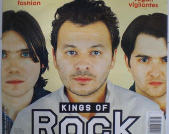 MANIC STREET PREACHERS The Face Issue No 20 Original 1998 Official Publicity Poster
