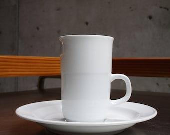 NORITAKE, ESPRESSO Cups + Saucers.