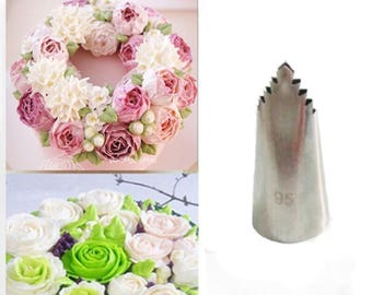 Leaves Tube, Stainless Steel ,Icing Fondant, Piping Decorating, Nozzles Pastry Tools, Decorating Tip