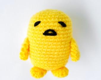 Mr Egg Yolk Crochet Pattern