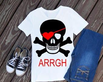 Valentine svg, pirate valentine, boy valentine svg, pirate svg, valentines day svg, svg valentine, valentine pirate, svg boy valentine, svg