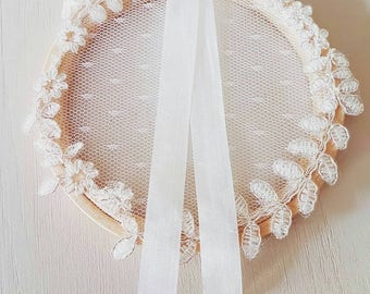 """Ring pillow lace """"Louise"""""""
