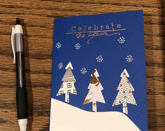 I made handmade cards for all occations using fun paper to enhance a celebration or let your loved one know you care.