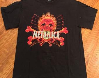 "Vintage 90s Metallica ""Pushhead"" T Shirt"