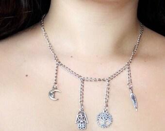 Spirtual Charm Necklace