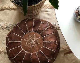 Genuine Moroccan pouf