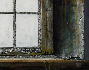 Rustic Window (unframed)
