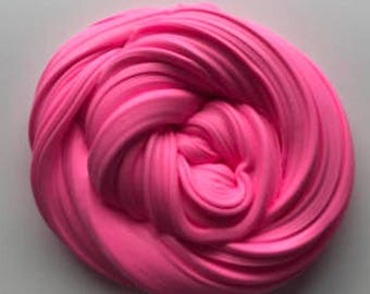 hot pink butter slime