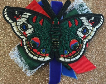 Large Butterfly Barette