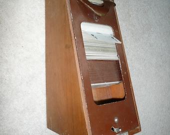 Vintage Le Banquier Card Shoe