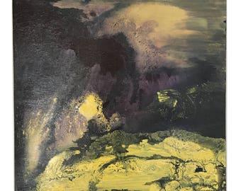 """Jupiter's Landscape 24""""X24"""""""
