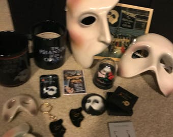 Phantom Of the Opera Collectors Items Bundle