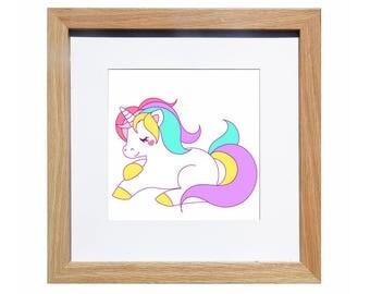 Unicorn Print. PRINTABLE art, Fantasy print, Nursery decor, Fantasy art,  Nursery wall art, Kids decor