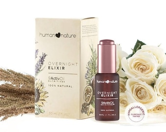 Human Nature Overnight Elixir 100% NATURAL and Hypoallergenic