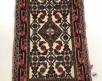 """001170 Hamedan Oriental Persian Rug 2'2""""X3'8"""""""