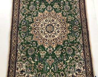 001184 Nain Oriental Persian Rug 5'X3'
