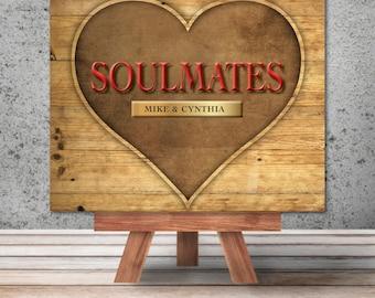"""Unique Custom Art: """"Soulmates"""""""