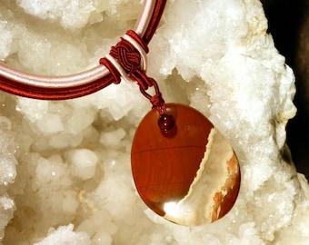 N55 Bloodstone pendant