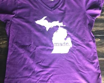 Made in michigan shirt