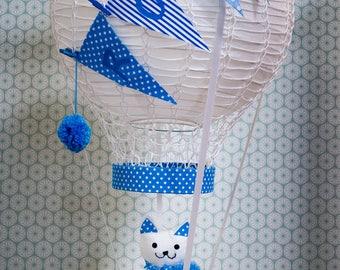Customizable hot air balloon room child