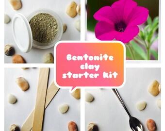 Bentonite clay starter kit