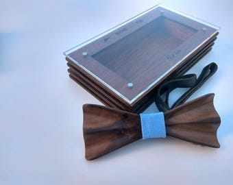 Virginia Handmade Wooden Bowtie