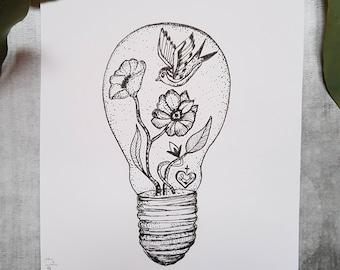 Vegetable idea card