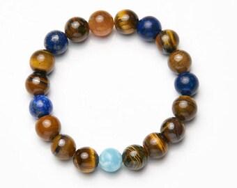 Mens-Women's Bracelet * Larimar */mens-Womens Bracelet * Larimar *