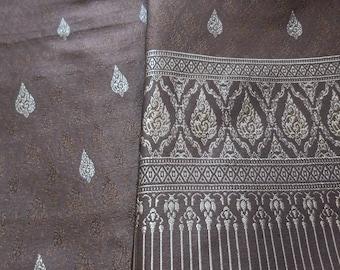 Thai woven cotton fabric