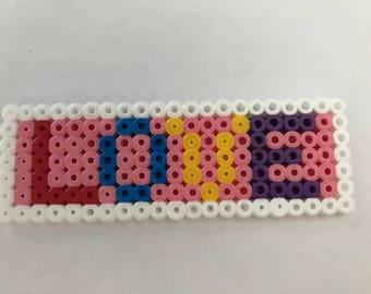 LOVE hama bead