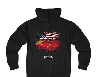 Amwo Zip Hoodie  Usa-China