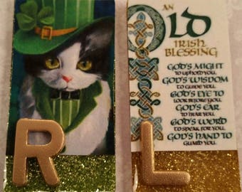 Old Irish Kitty X-Ray Markers, XRay Markers, Rad Tech Markers, X, Ray