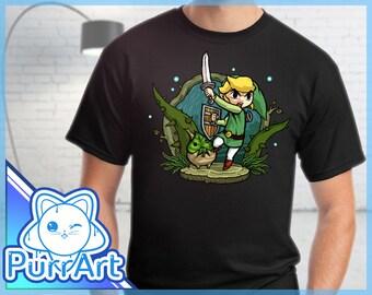 Forbidden Woods - Zelda T-Shirt Zelda Shirt The Legend of Zelda Wind Waker Shirt Link Tee Forbidden Woods Zelda Shirt